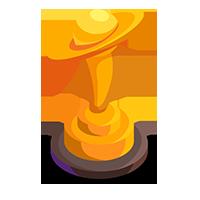 Interstellar Gold Trophy