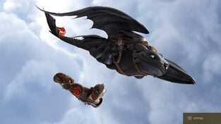 Toothless Gallery httyd2 2wm