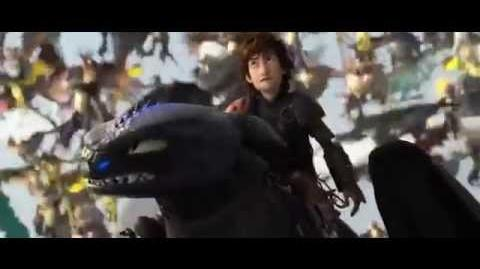 How to Train Your Dragon 2 Toothless vs Bewilderbeast - ENDING SCENE (MAJOR SPOILERS)