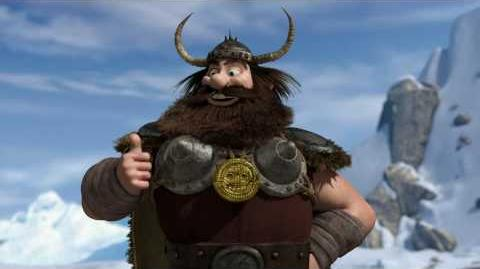 HOW TO TRAIN YOUR DRAGON - Dragon-Viking Games Vignettes Bobsled
