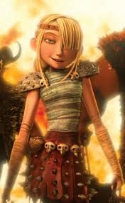 Astrid in Dragon Trainer