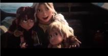 Zephyr, Nuffink e Astrid