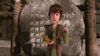 Hiccup nella serie animata