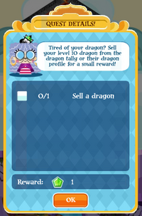 Sell your dragon
