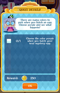 Purple Enchanted Egg1