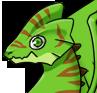 Chameleon adult icon