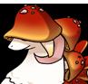 Mushroom adult icon