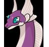 Purple lips adult icon