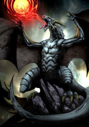Dragon by el grimlock
