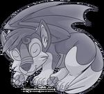 Canidragon Silver 1 Hatchling