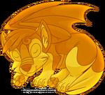 Canidragon Gold 1 Hatchling