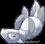 Plesiodragon Silver 1 Hatchling