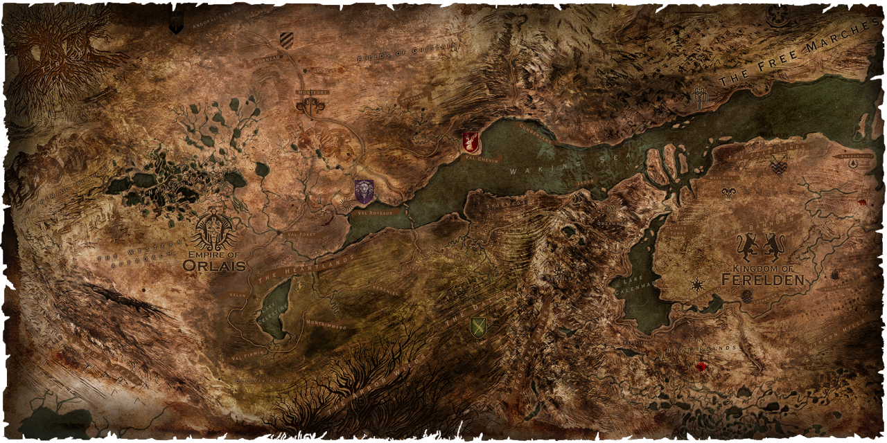 Dragon Age Inquisition Map War