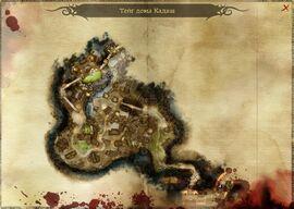 Карта тейга Кадаш
