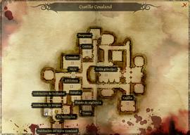 Castillo Cousland - Mapa
