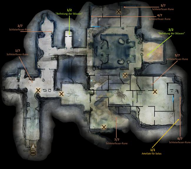 Runen Im Vergessenen Tempel
