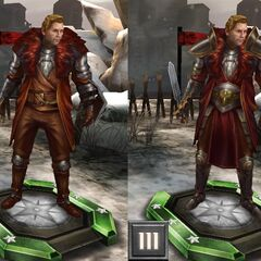Tier progression Advisor Cullen in <i>Heroes of Dragon Age</i>