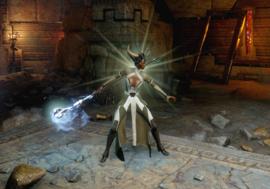 Демонстрация умения Умиротворяющая аура (Inquisition)