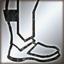 Light boots silver DA2