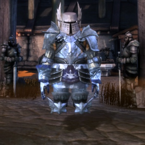 Templar Boots making invisible the lower part of the legs.