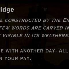 Wooden Bridge landmark text