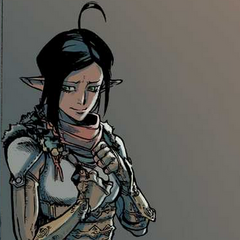Vaea in Dragon Age: Knight Errant #5