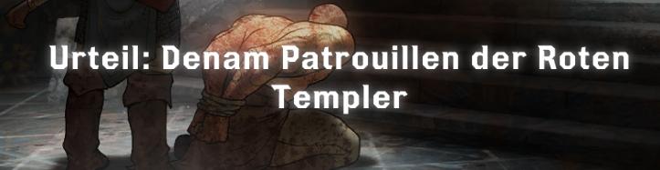 Patrouillen der Roten Templer