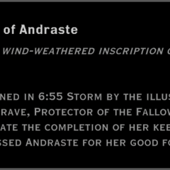 The Light of Andraste