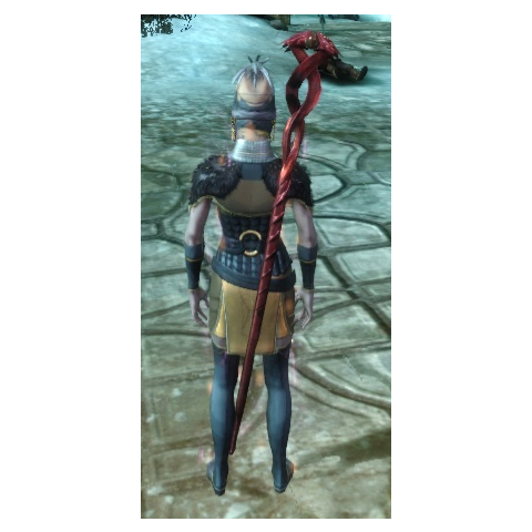 Corrupted Magister's Staff as it looks on Wynne