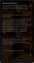 Note Text - Defaced Carta Notice