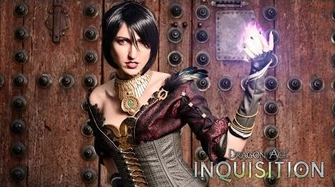 CuBaN VeRcEttI/La cosplayer Laura Nebulaluben da vida a Morrigan de Dragon Age: Inquisition