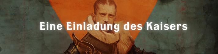 Eine Einladung des Kaisers - Font
