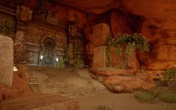 Tempel des Stolzes - Die Tür