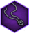 Unique amulet icon