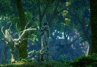 Święte Równiny - posąg