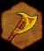 Эскиз отменного топора (иконка)