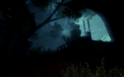 Котловина ночью