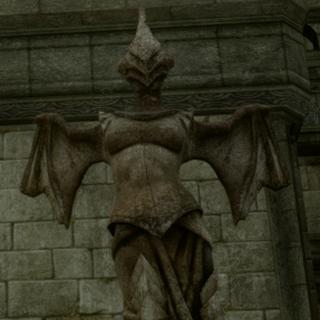 Statua przedstawiająca Mythal