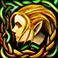 Иконка эльфа-женщины