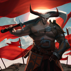 Promotional art of The Iron Bull