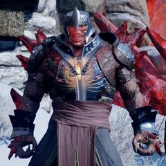 Red Templar Knight