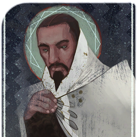 Magister Erimond tarot card