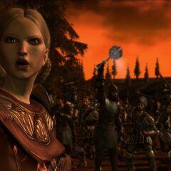 Anora in Schlacht bei Denerim