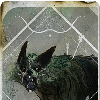 Lavellan Hunter tarot card