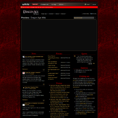 Mockup 4, Red titles, no explicit borders. Like Mockup 1 with red!