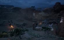 Sand und Verfall - Das Hauptlager der Venatori