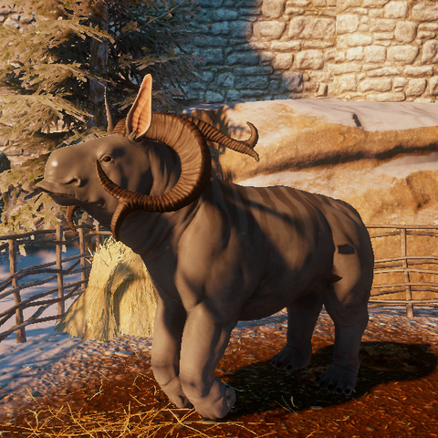 Greater Nuggalope mount
