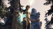 Velanna casting spell