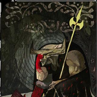 Tarotkarte des Bullen als <a href=