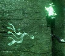 Rune being revealed by veilfire